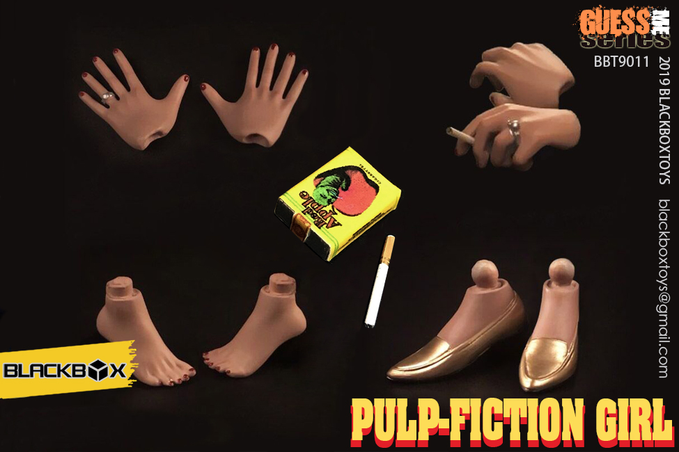 NEW PRODUCT: BLACKBOX: 1/6 Scale Guess Me Series - Pulpfiction Girl (#BBT9011) 11364410
