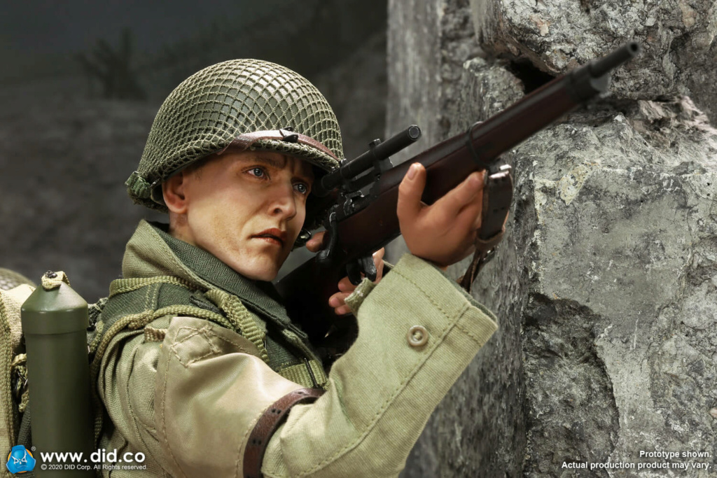 DiD - NEW PRODUCT: DiD: A80144 WWII US 2nd Ranger Battalion Series 4 Private Jackson 11375