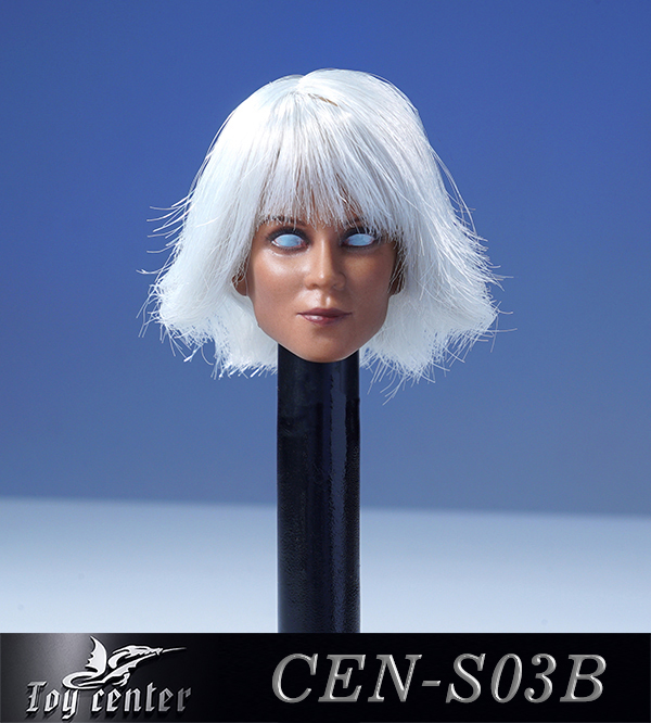 comicbook-based - NEW PRODUCT: Toy Center: 1/6 European and American hair female head carving - two colors CEN-S03 11400310