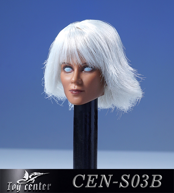 comicbook-based - NEW PRODUCT: Toy Center: 1/6 European and American hair female head carving - two colors CEN-S03 11400311
