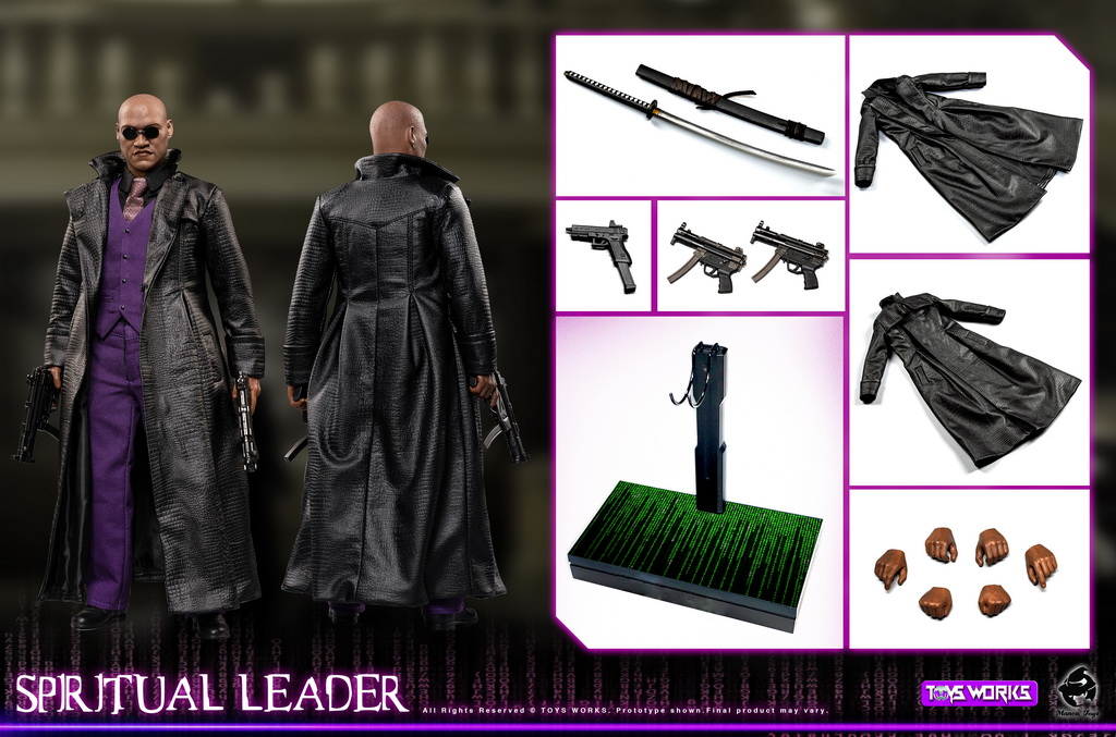 male - NEW PRODUCT: Toys Works: 1/6 Soul Leader Spiritual Leader Movable Tw009# 11541311