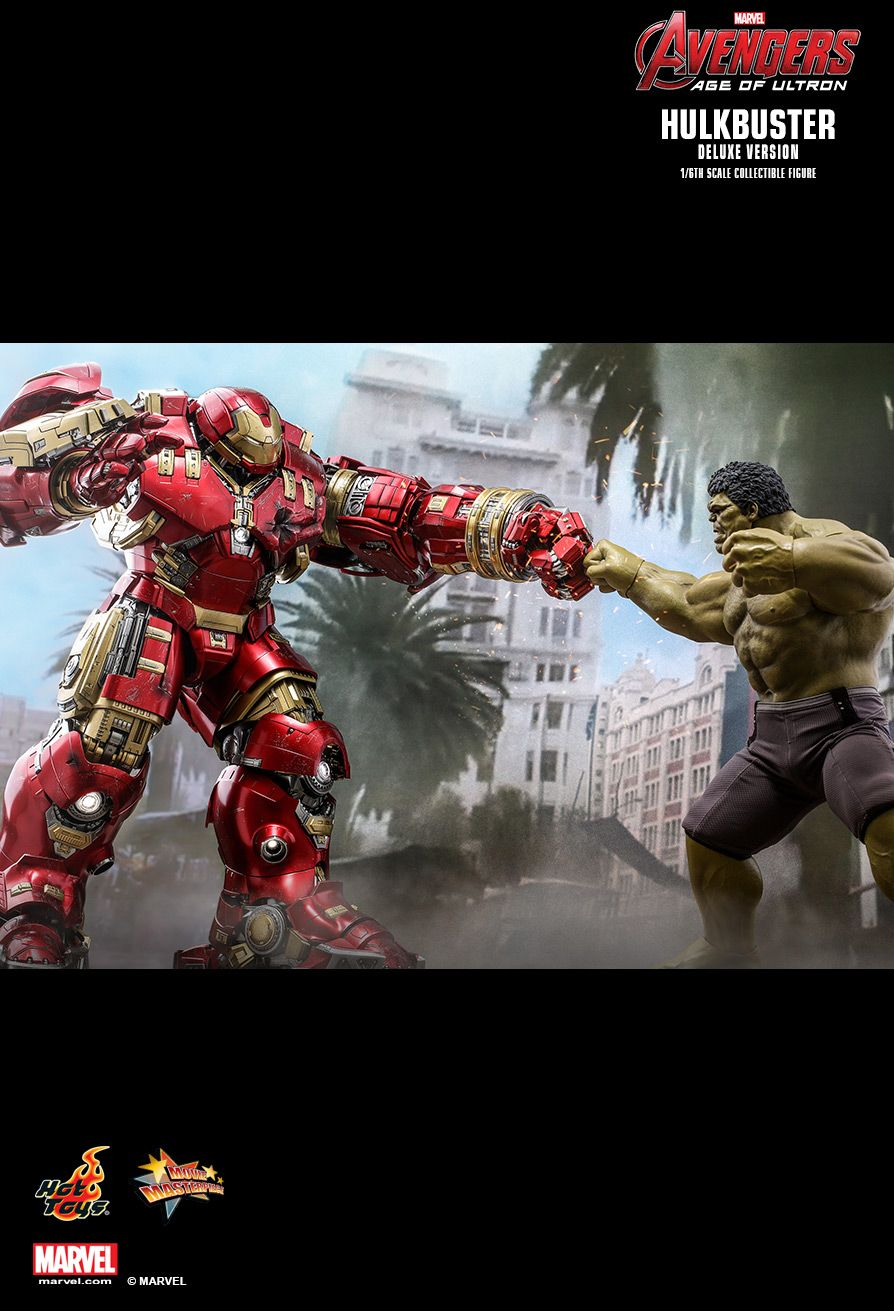 NEW PRODUCT: HOT TOYS: AVENGERS: AGE OF ULTRON HULKBUSTER (DELUXE VERSION) 1/6TH SCALE COLLECTIBLE FIGURE 1159