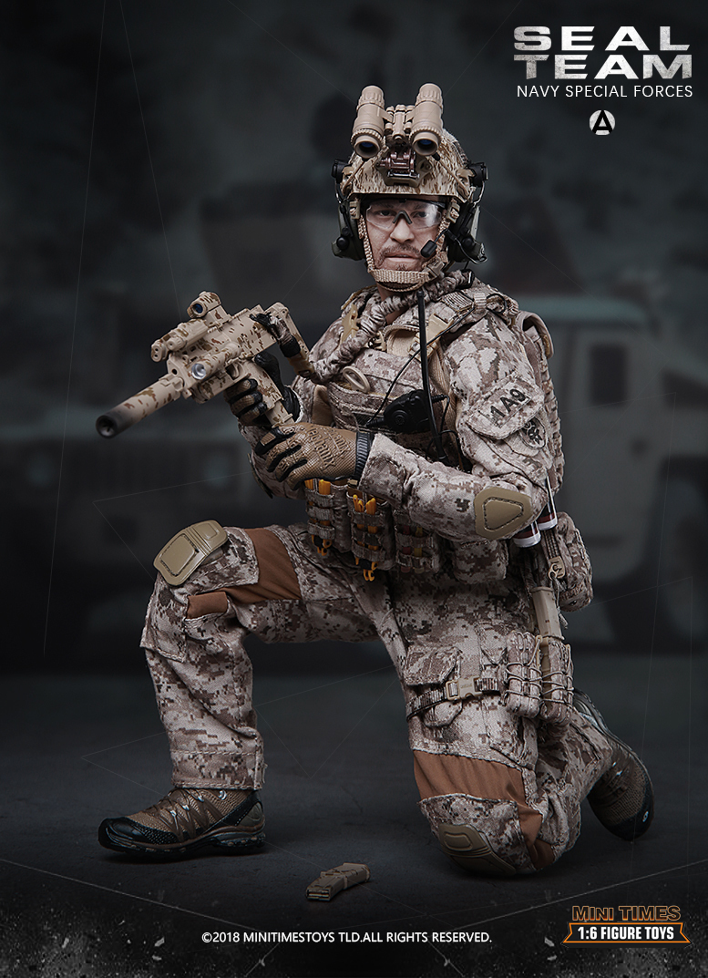minitimes - NEW PRODUCT: MINI TIMES TOYS US NAVY SEAL TEAM SPECIAL FORCES 1/6 SCALE ACTION FIGURE MT-M012 1166