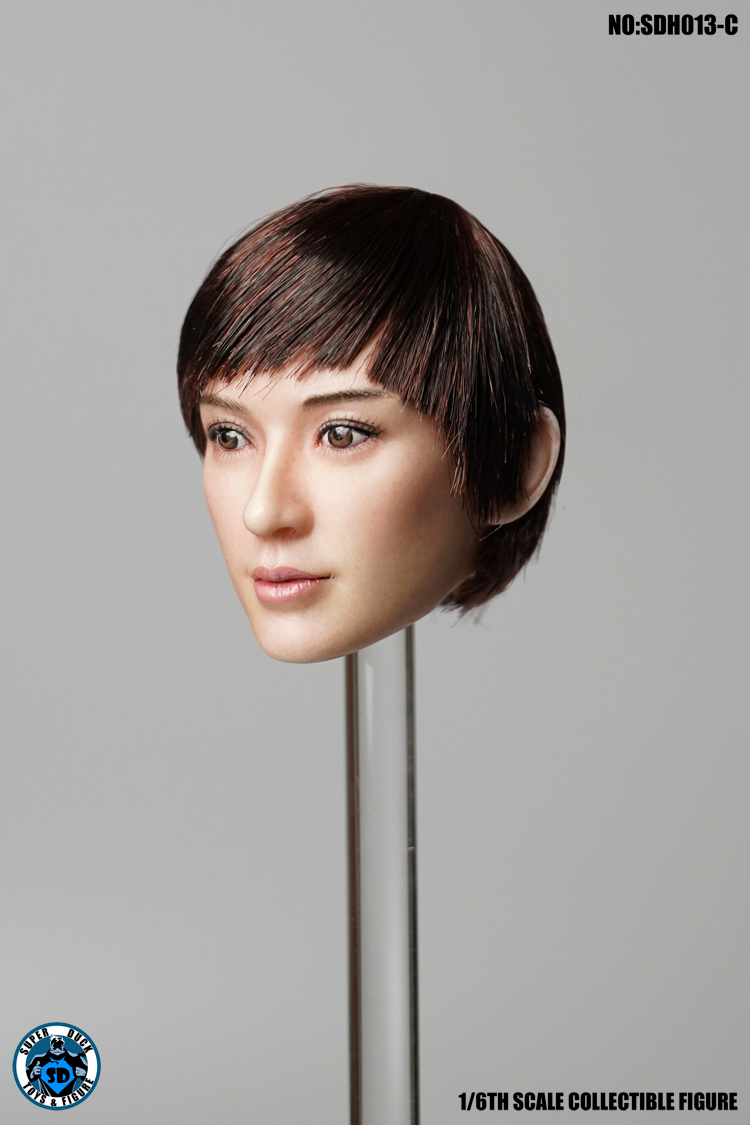 superduck - NEW PRODUCT: SUPER DUCK New product: 1/6 SDH013 female head carving - ABC three models 1172