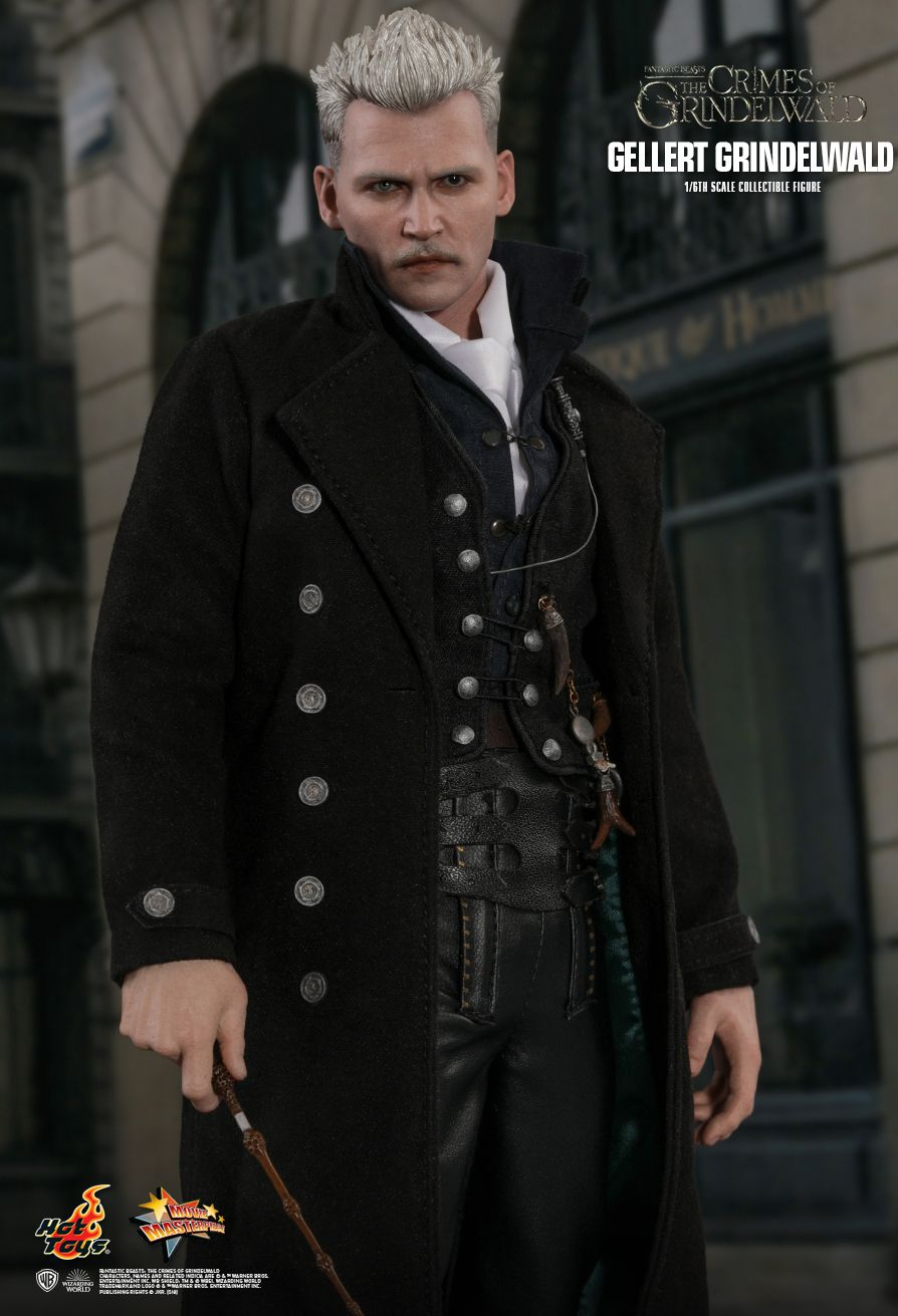 NEW PRODUCT: HOT TOYS: FANTASTIC BEASTS: THE CRIMES OF GRINDELWALD GELLERT GRINDELWALD 1/6TH SCALE COLLECTIBLE FIGURE 1179