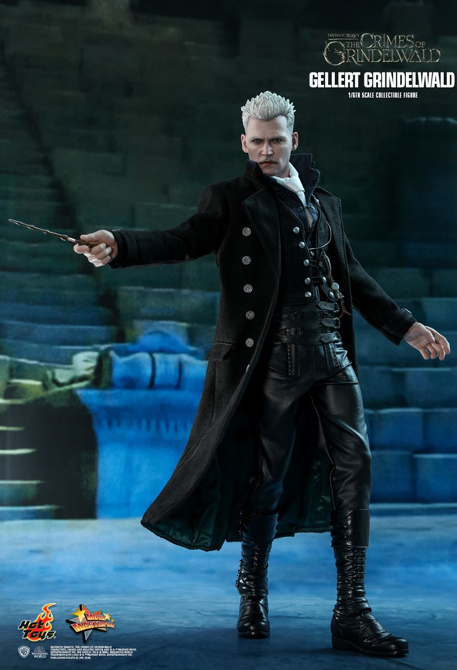 NEW PRODUCT: HOT TOYS: FANTASTIC BEASTS: THE CRIMES OF GRINDELWALD GELLERT GRINDELWALD 1/6TH SCALE COLLECTIBLE FIGURE 1180