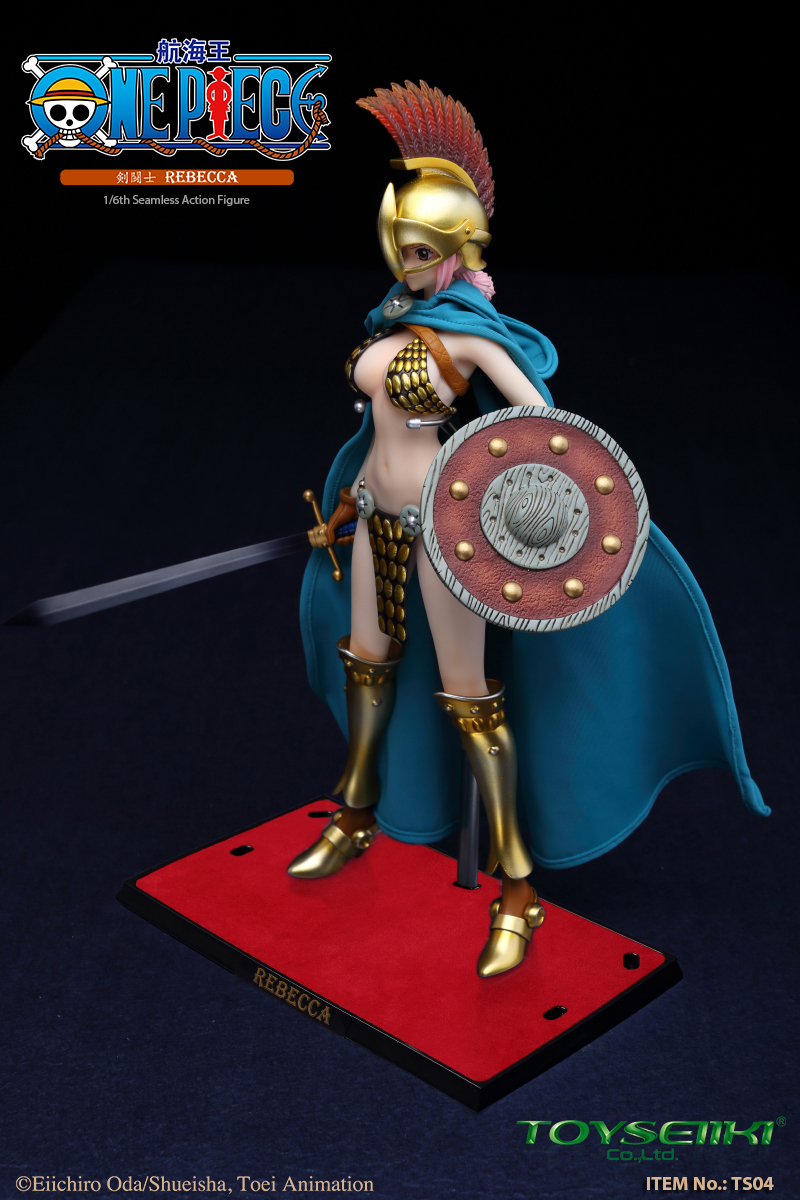 "NEW PRODUCT: TOYSEIIKI New product: 1/6 ""One Piece"" genuine license - Sword Fighter Rebecca (double head carved single body) 1183"