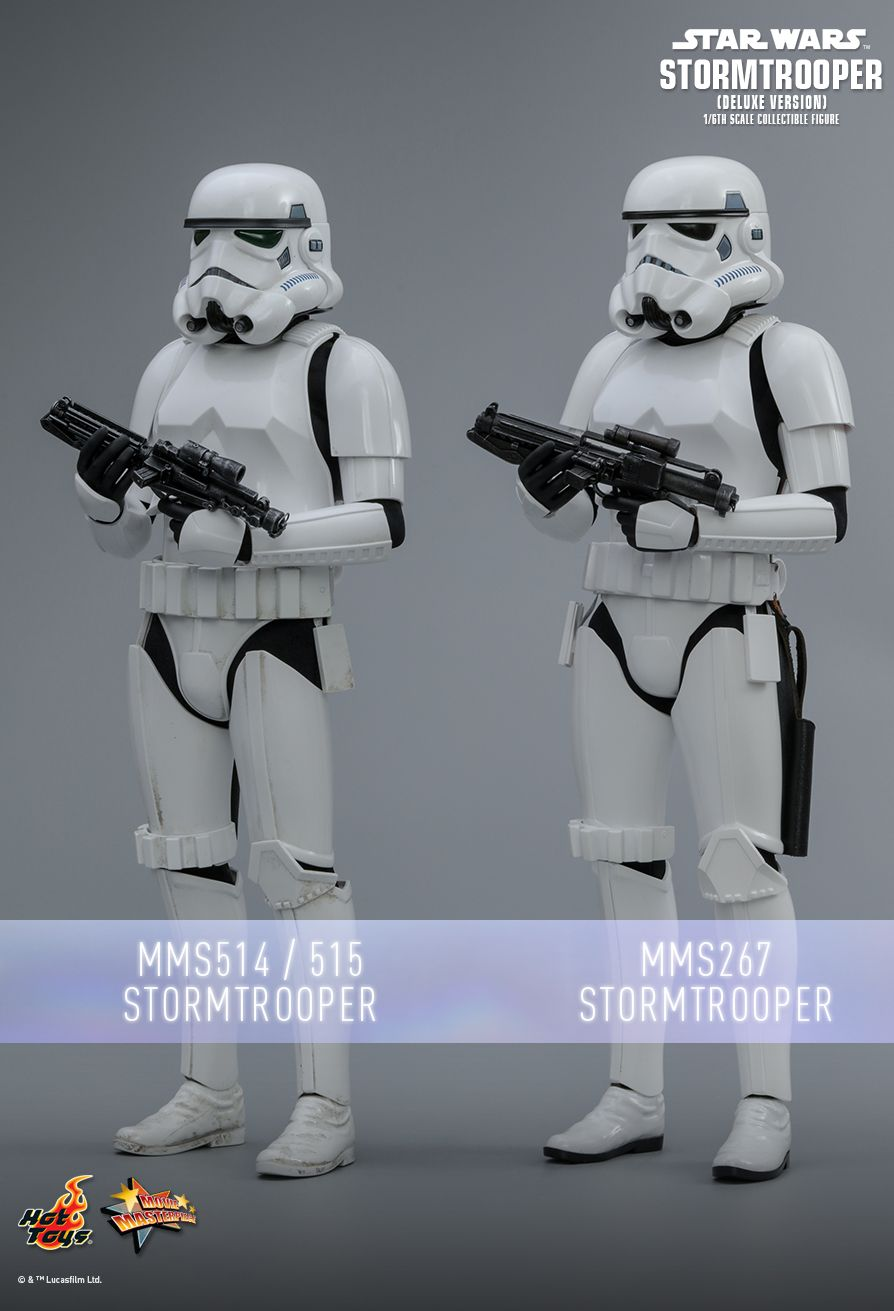 stormtrooper - NEW PRODUCT: HOT TOYS: STAR WARS STORMTROOPER (DELUXE VERSION) 1/6TH SCALE COLLECTIBLE FIGURE 1185