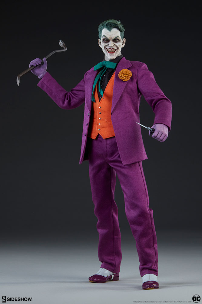 batman - NEW PRODUCT: SIDESHOW COLLECTIBLES: The Joker Sixth Scale Figure (Exclusive Laughing Head Sculpt) 1189