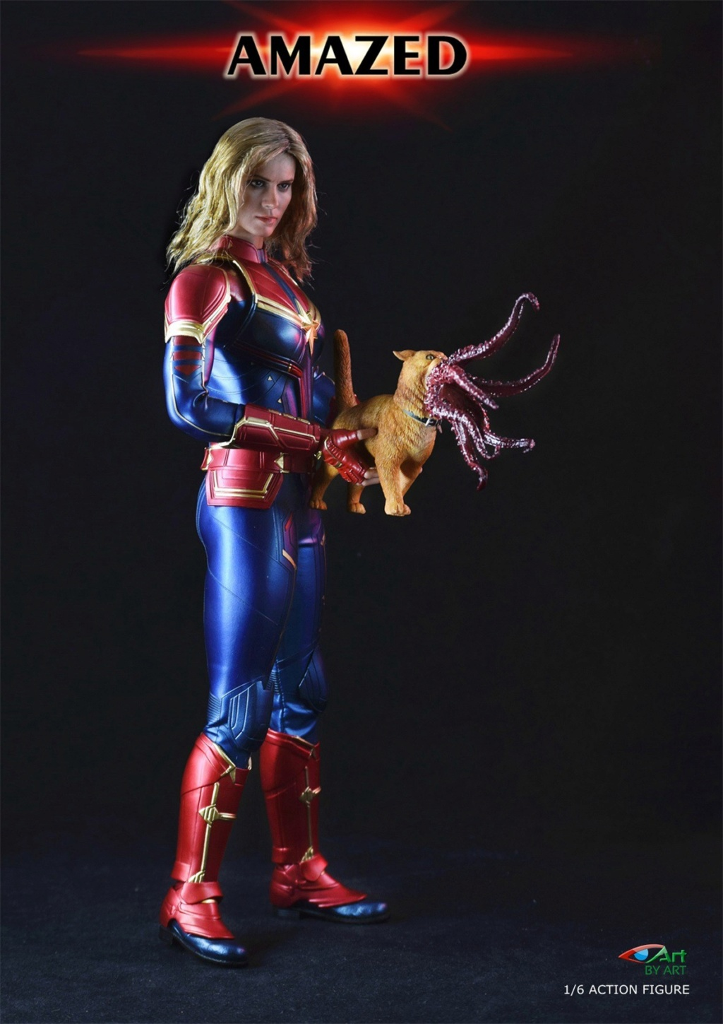 Female - NEW PRODUCT: BY-Art: 1/6 AMAZED amazing female action figure BY-012 12020611