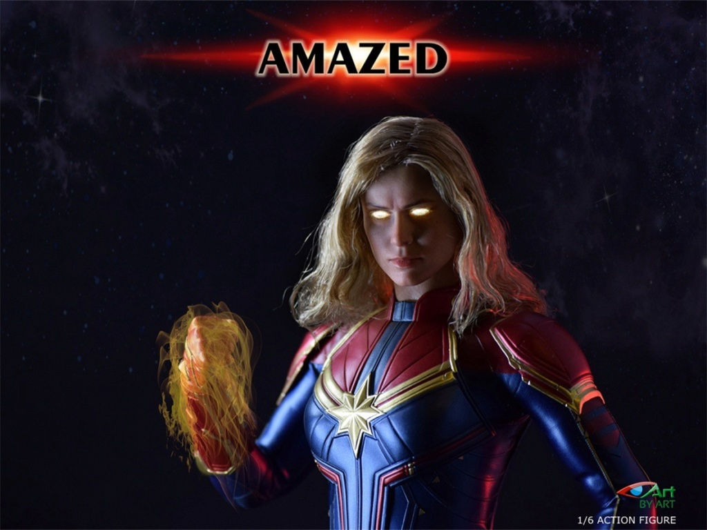 Female - NEW PRODUCT: BY-Art: 1/6 AMAZED amazing female action figure BY-012 12021011