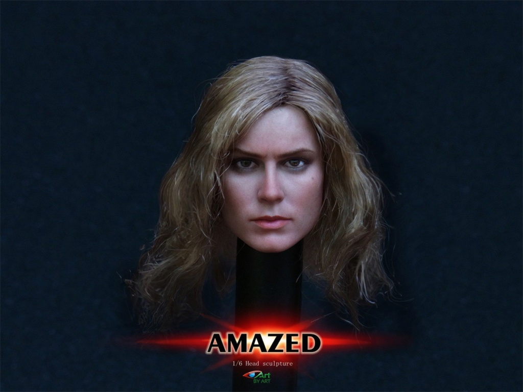 Female - NEW PRODUCT: BY-Art: 1/6 AMAZED amazing female action figure BY-012 12025210