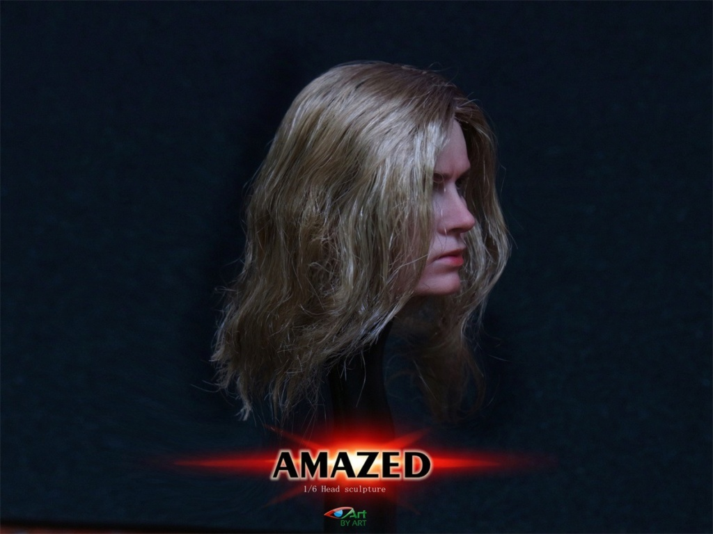 Female - NEW PRODUCT: BY-Art: 1/6 AMAZED amazing female action figure BY-012 12025710