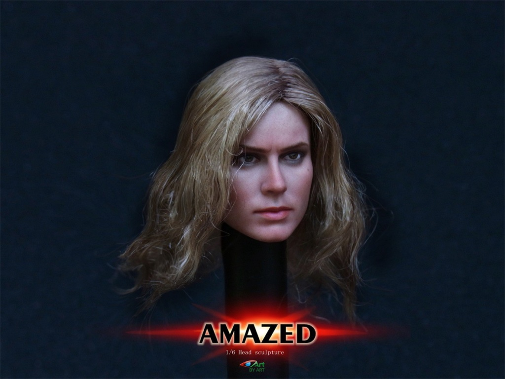 Female - NEW PRODUCT: BY-Art: 1/6 AMAZED amazing female action figure BY-012 12025711