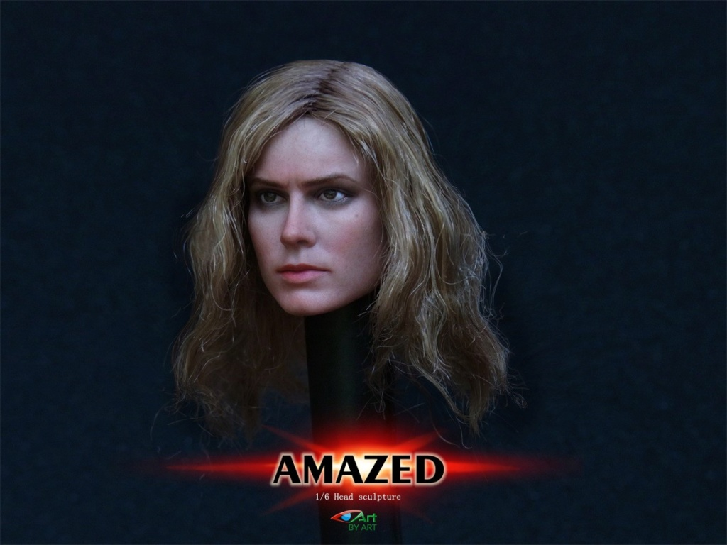 Female - NEW PRODUCT: BY-Art: 1/6 AMAZED amazing female action figure BY-012 12025910
