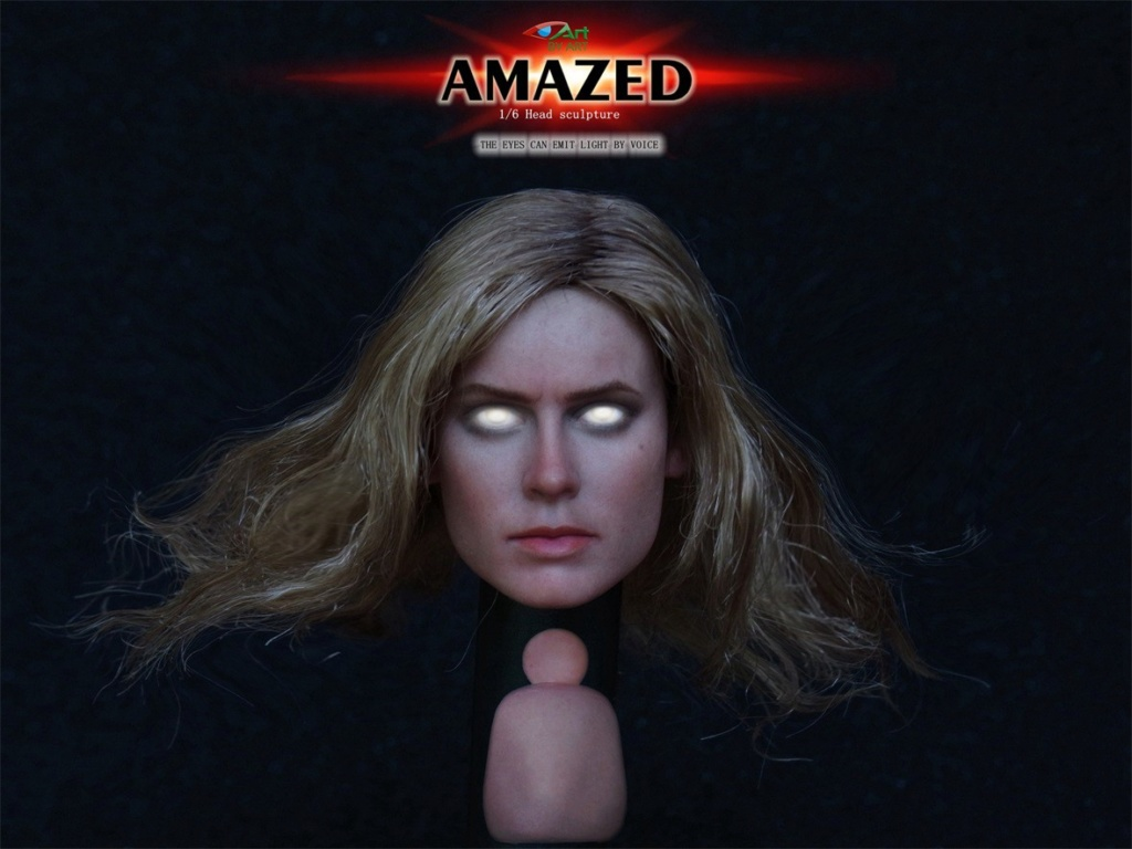 Female - NEW PRODUCT: BY-Art: 1/6 AMAZED amazing female action figure BY-012 12030010