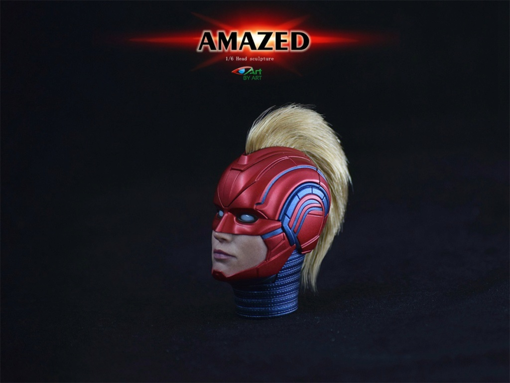Female - NEW PRODUCT: BY-Art: 1/6 AMAZED amazing female action figure BY-012 12032610