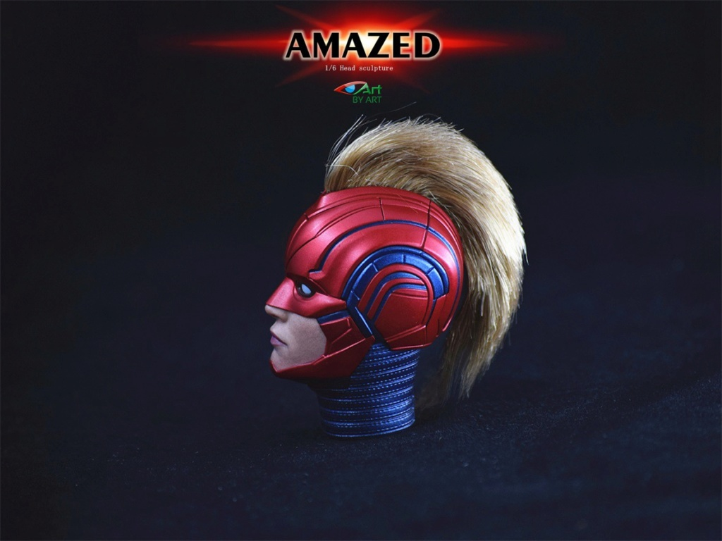 Female - NEW PRODUCT: BY-Art: 1/6 AMAZED amazing female action figure BY-012 12034310