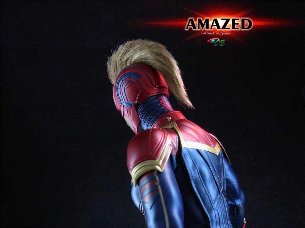 Female - NEW PRODUCT: BY-Art: 1/6 AMAZED amazing female action figure BY-012 12040710
