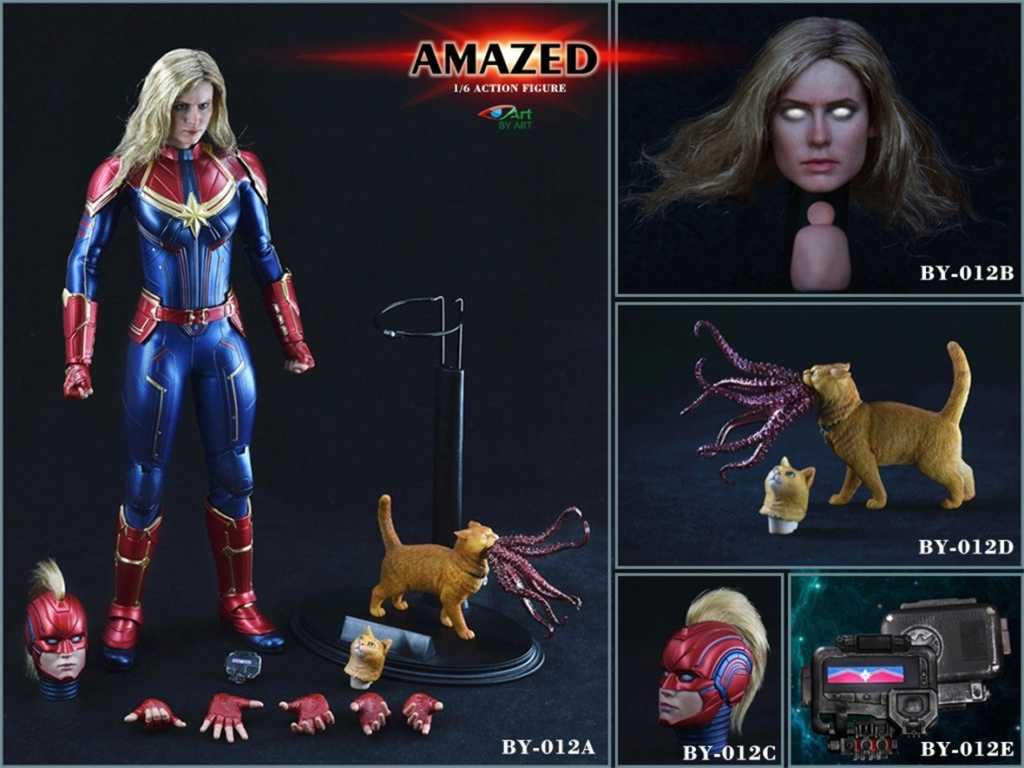 Female - NEW PRODUCT: BY-Art: 1/6 AMAZED amazing female action figure BY-012 12043710