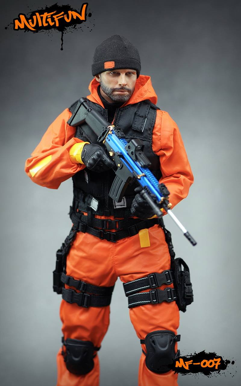 NEW PRODUCT: MULTIFUN 1/6th scale Quarantine Zone Agent 12-inch action figure Set 1206