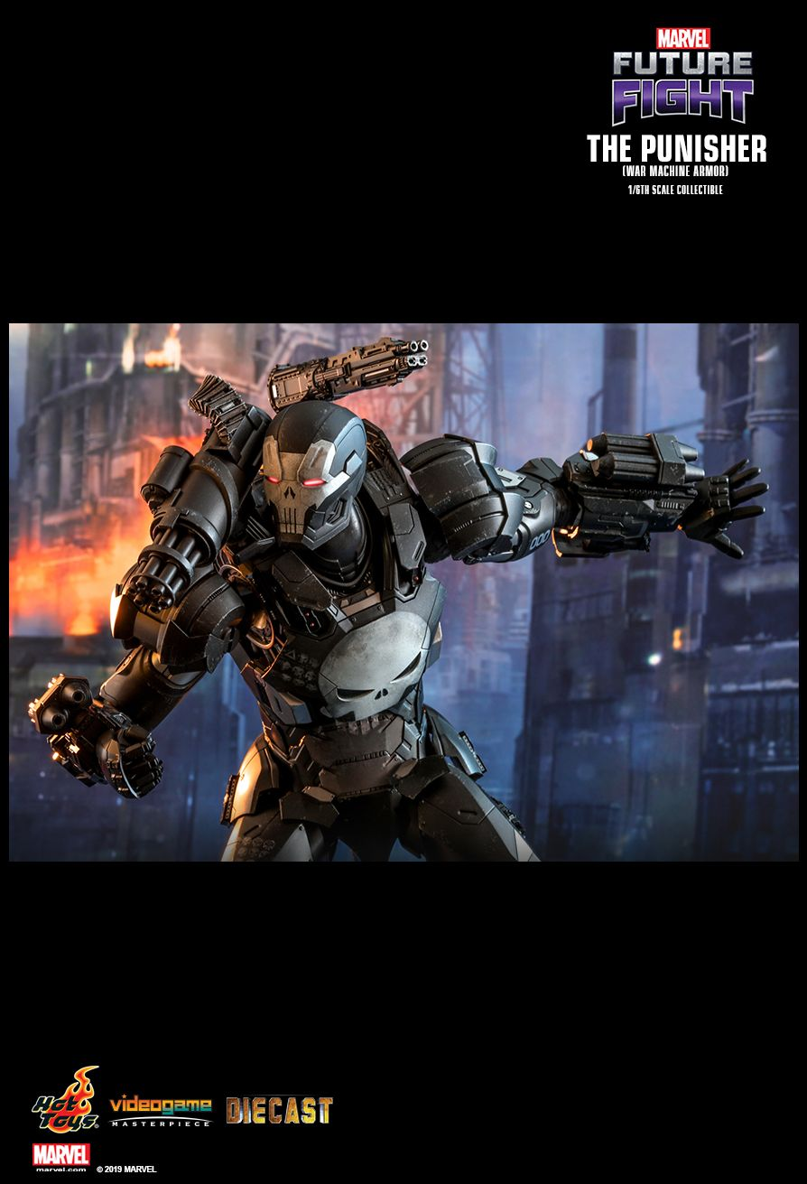 Videogame - NEW PRODUCT: HOT TOYS: MARVEL FUTURE FIGHT THE PUNISHER (WAR MACHINE ARMOR) 1/6TH SCALE COLLECTIBLE FIGURE 12102