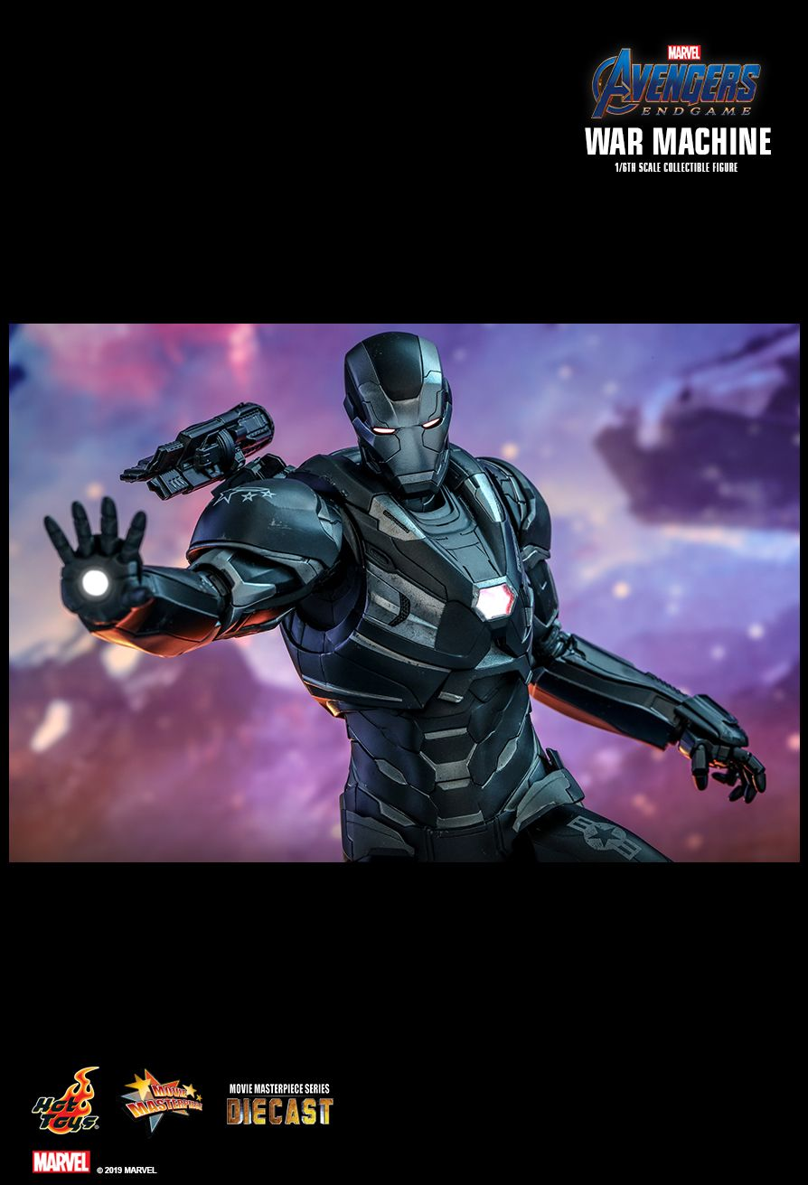 WarMachine - NEW PRODUCT: HOT TOYS: AVENGERS: ENDGAME WAR MACHINE 1/6TH SCALE COLLECTIBLE FIGURE 12132