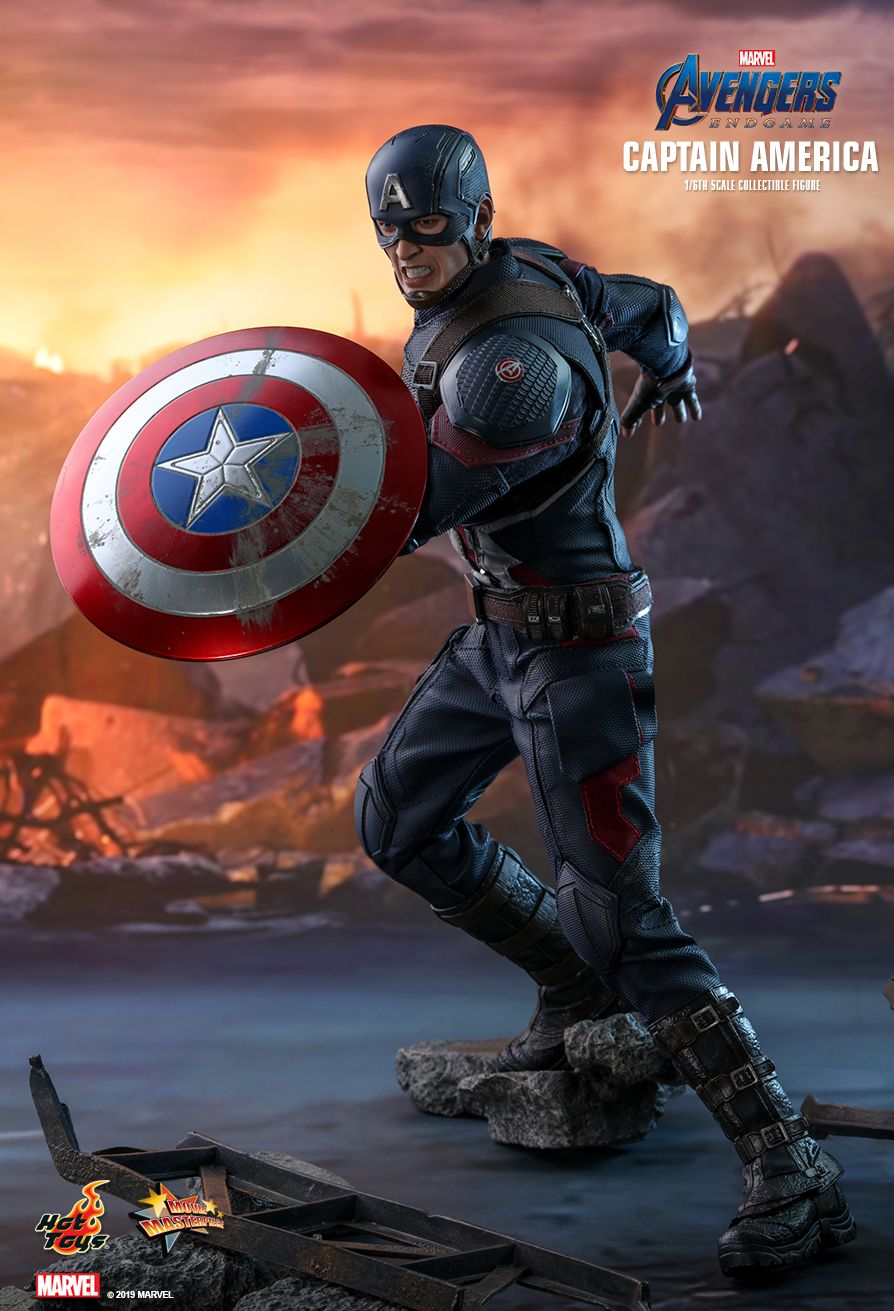 captainamerica - NEW PRODUCT: HOT TOYS: AVENGERS: ENDGAME CAPTAIN AMERICA 1/6TH SCALE COLLECTIBLE FIGURE 12137