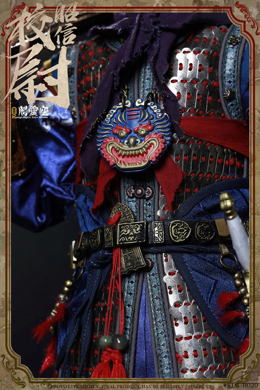 military - NEW PRODUCT: KongLingGe: 1/6 Ming Dynasty Series - Zhaoxin School's movable dolls [two models] (#KLG-R020A/B) 12150910
