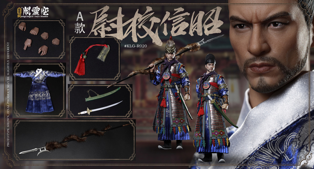 military - NEW PRODUCT: KongLingGe: 1/6 Ming Dynasty Series - Zhaoxin School's movable dolls [two models] (#KLG-R020A/B) 12152710