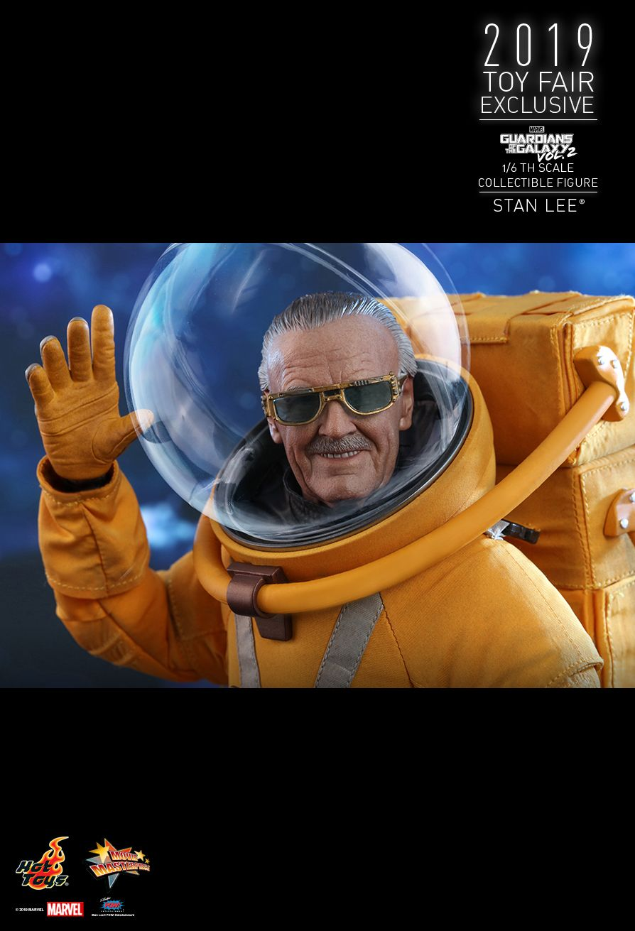 NEW PRODUCT: HOT TOYS: GUARDIANS OF THE GALAXY VOL. 2 STAN LEE® 1/6TH SCALE COLLECTIBLE FIGURE 12159