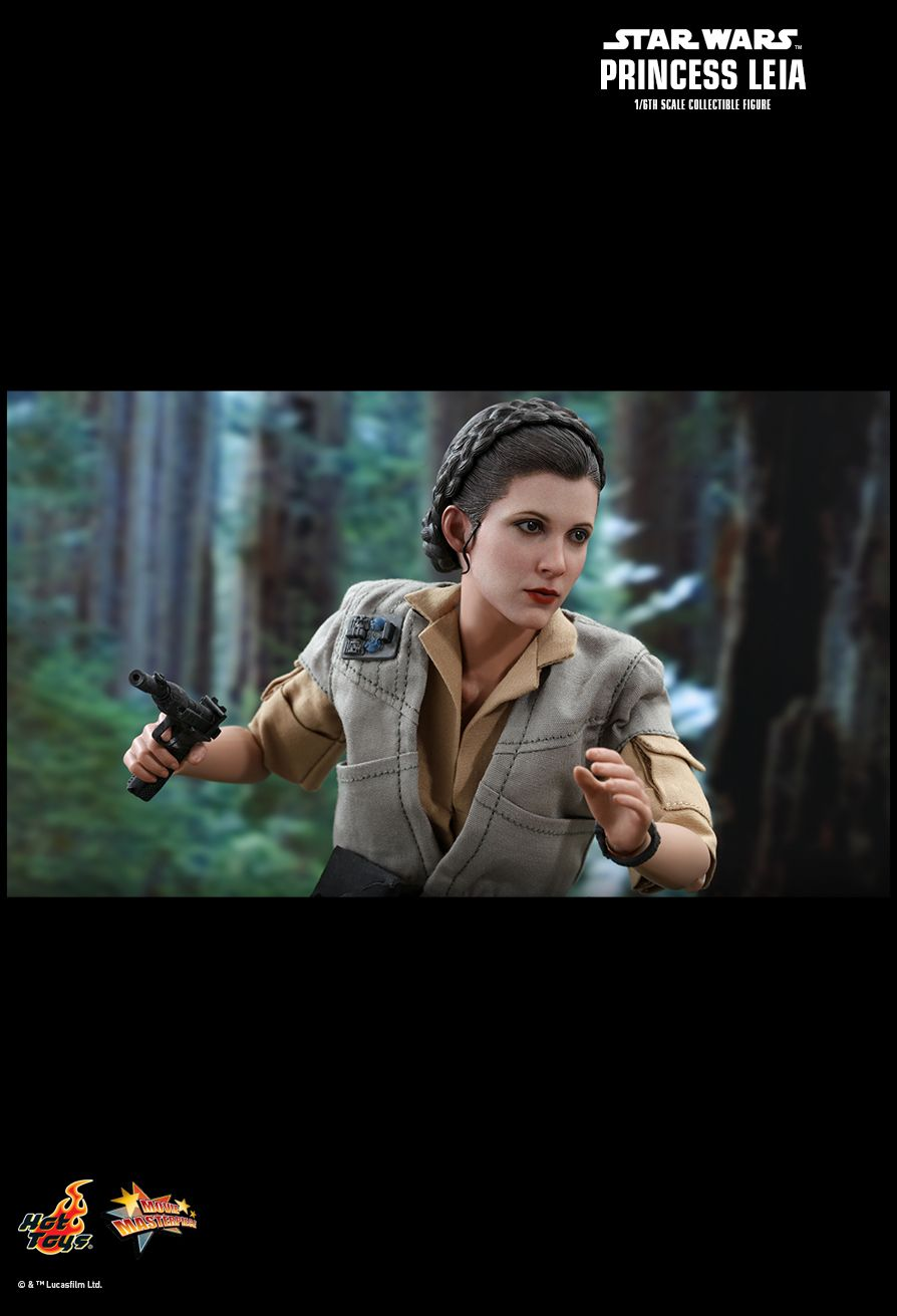 NEW PRODUCT: HOT TOYS: STAR WARS: RETURN OF THE JEDI PRINCESS LEIA 1/6TH SCALE COLLECTIBLE FIGURE 12167