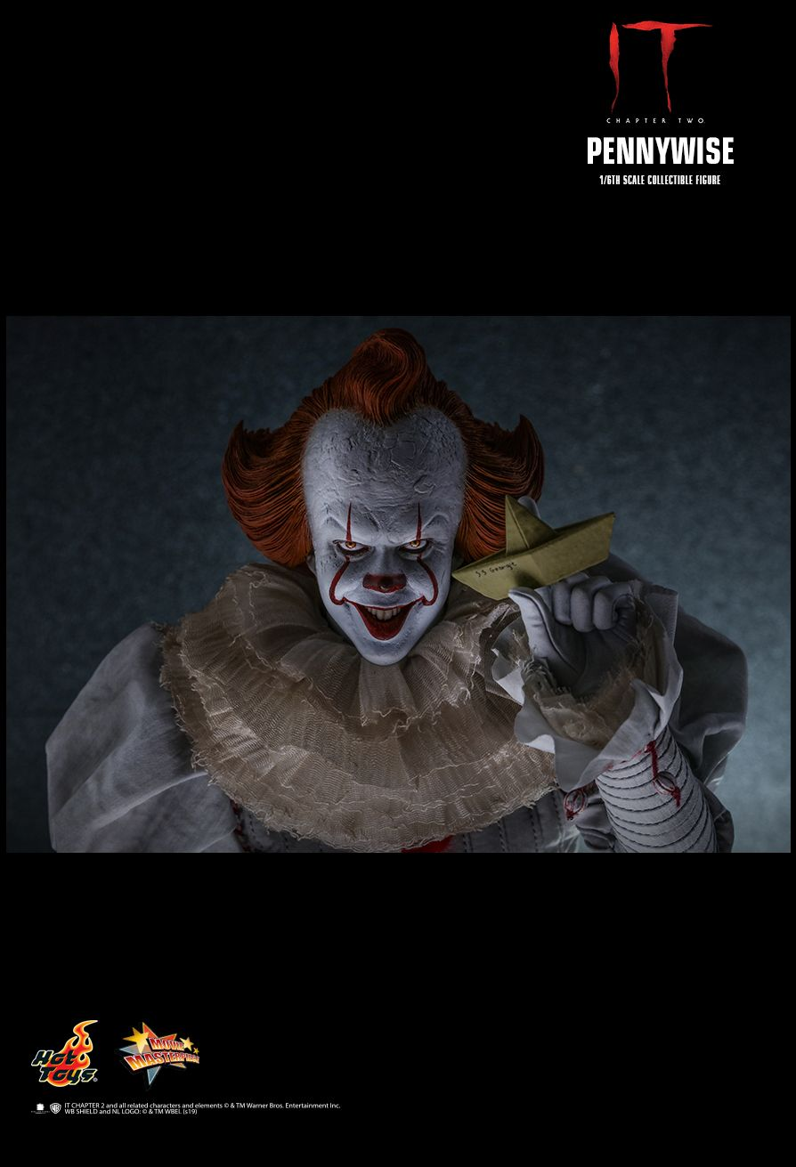 NEW PRODUCT: HOT TOYS: IT CHAPTER TWO PENNYWISE 1/6TH SCALE COLLECTIBLE FIGURE 12175