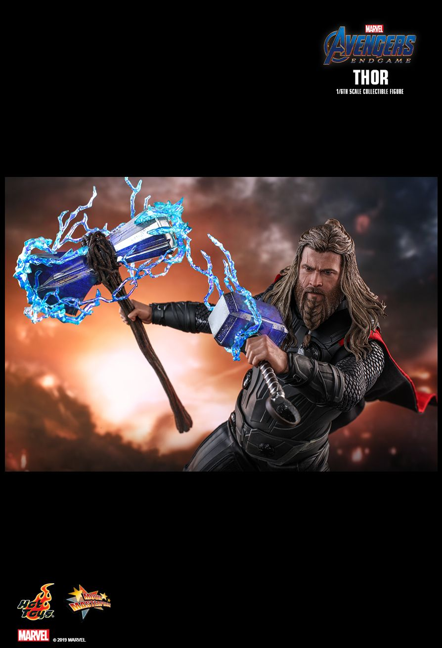 marvel - NEW PRODUCT: HOT TOYS: AVENGERS: ENDGAME THOR 1/6TH SCALE COLLECTIBLE FIGURE 12182