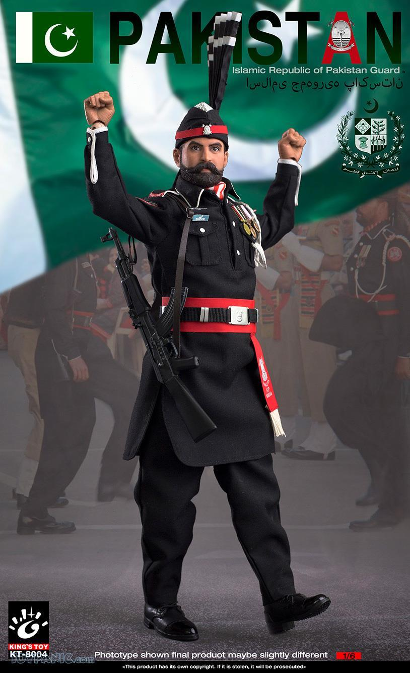 ModernMilitary - NEW PRODUCT: King Toy: 1/6 Pakistan Brothers Guard (KT-8004) 12192030
