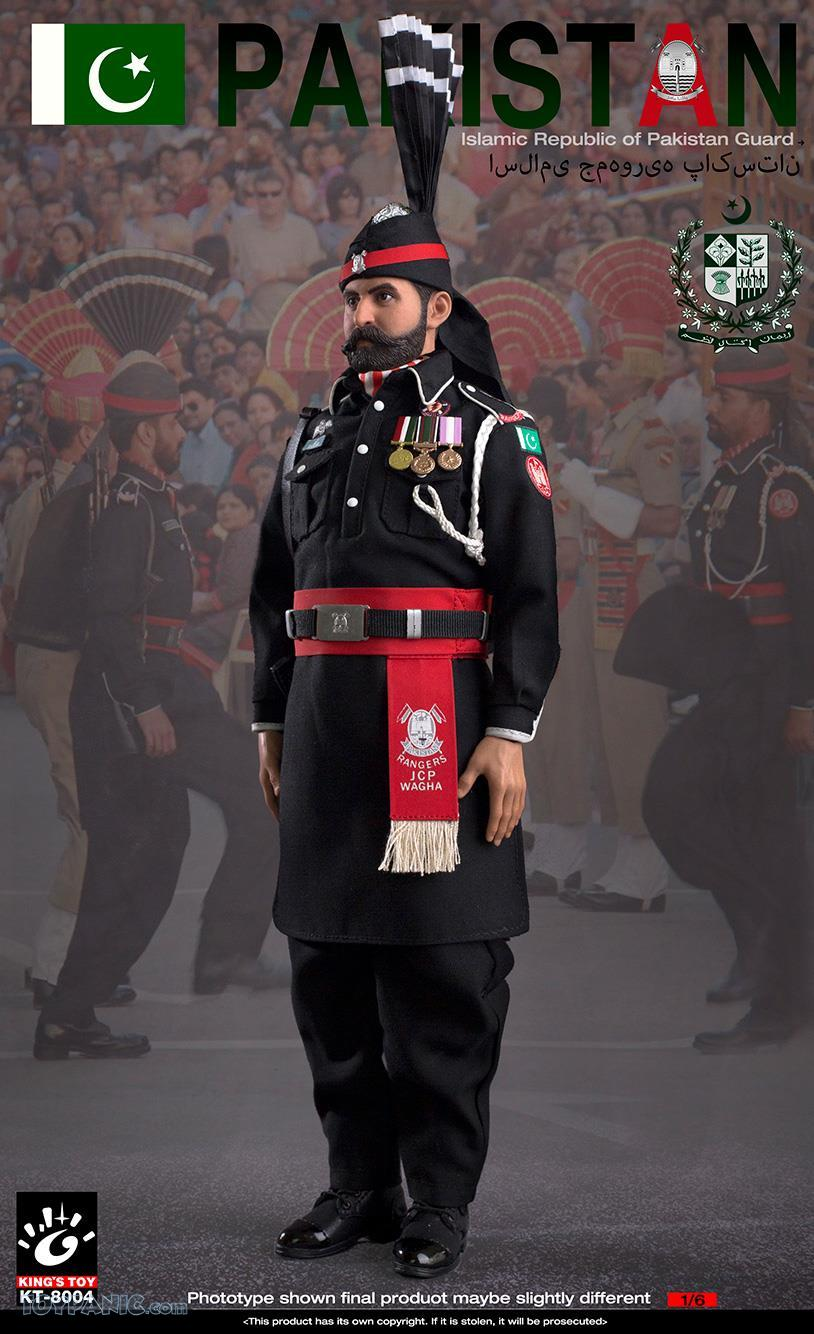 ModernMilitary - NEW PRODUCT: King Toy: 1/6 Pakistan Brothers Guard (KT-8004) 12192031