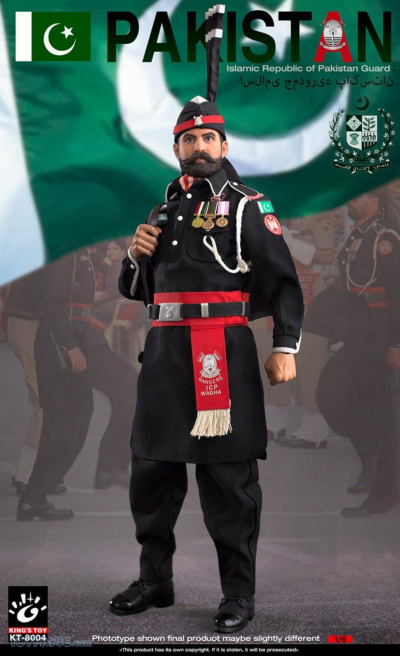ModernMilitary - NEW PRODUCT: King Toy: 1/6 Pakistan Brothers Guard (KT-8004) 12192036