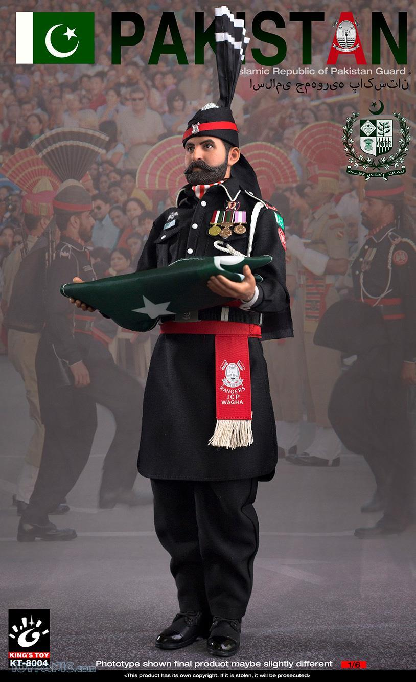 ModernMilitary - NEW PRODUCT: King Toy: 1/6 Pakistan Brothers Guard (KT-8004) 12192040