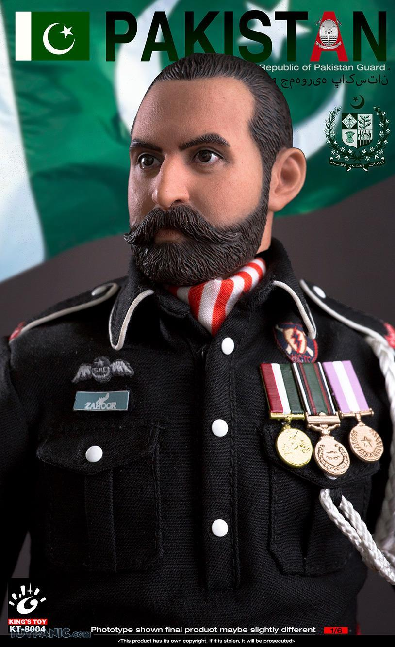 ModernMilitary - NEW PRODUCT: King Toy: 1/6 Pakistan Brothers Guard (KT-8004) 12192048