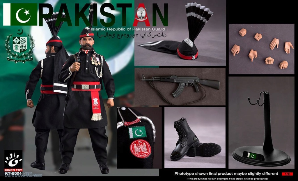 ModernMilitary - NEW PRODUCT: King Toy: 1/6 Pakistan Brothers Guard (KT-8004) 12192052