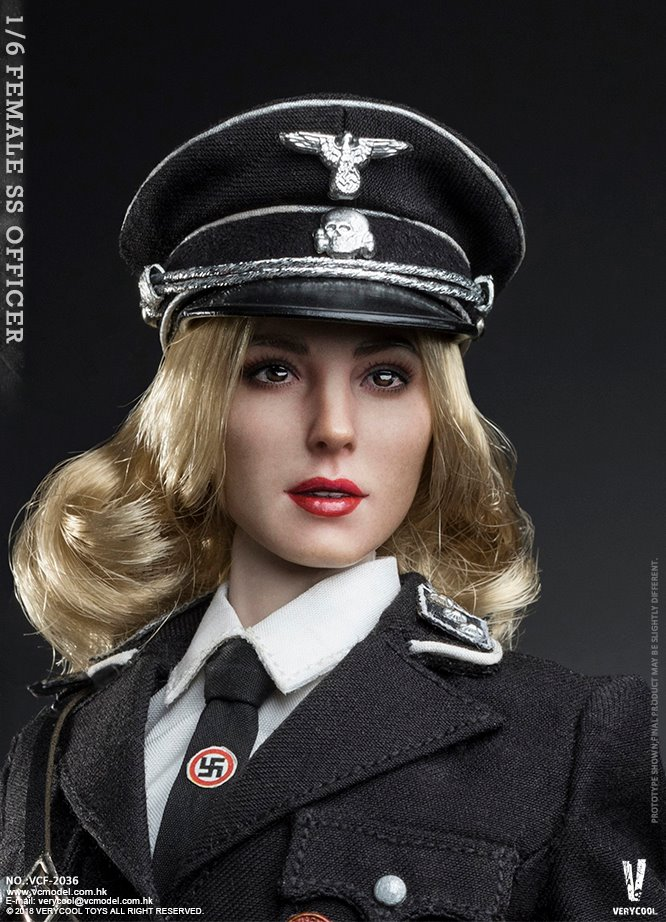 VeryCool - NEW PRODUCT: VERYCOOL VCF-2036 1/6 SS Female Officer 122