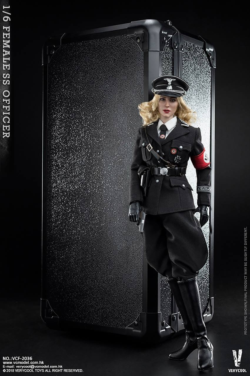 VeryCool - NEW PRODUCT: VERYCOOL VCF-2036 1/6 SS Female Officer 1220