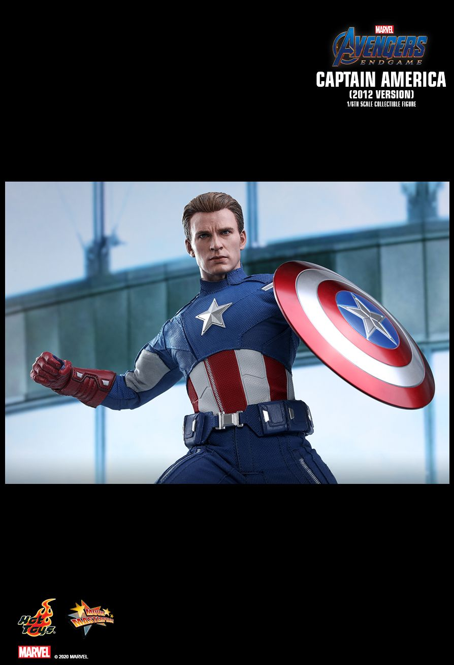 movie - NEW PRODUCT: HOT TOYS: AVENGERS: ENDGAME CAPTAIN AMERICA (2012 VERSION) 1/6TH SCALE COLLECTIBLE FIGURE 12201