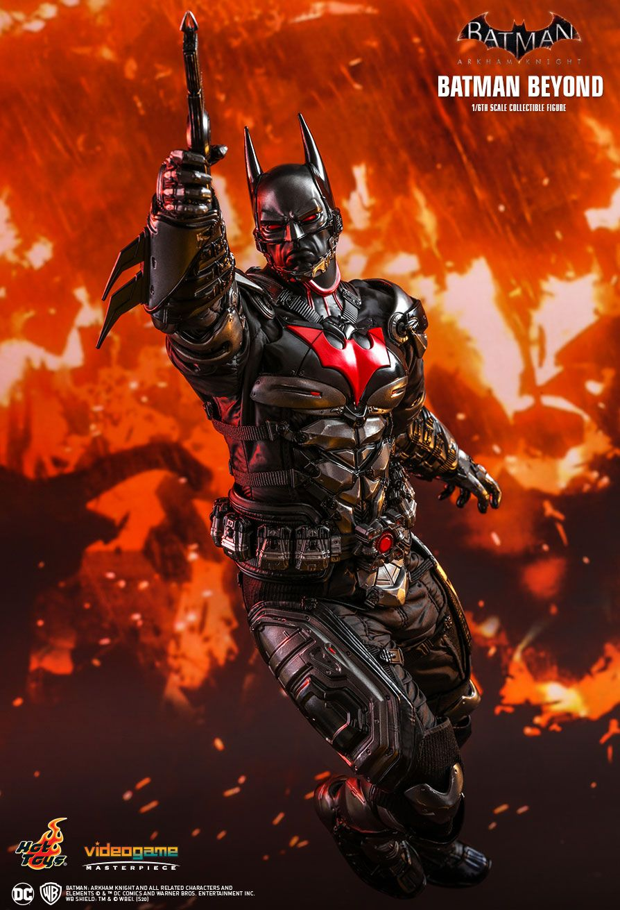 BatmanBeyond - NEW PRODUCT: HOT TOYS: BATMAN: ARKHAM KNIGHT BATMAN BEYOND 1/6TH SCALE COLLECTIBLE FIGURE 12208