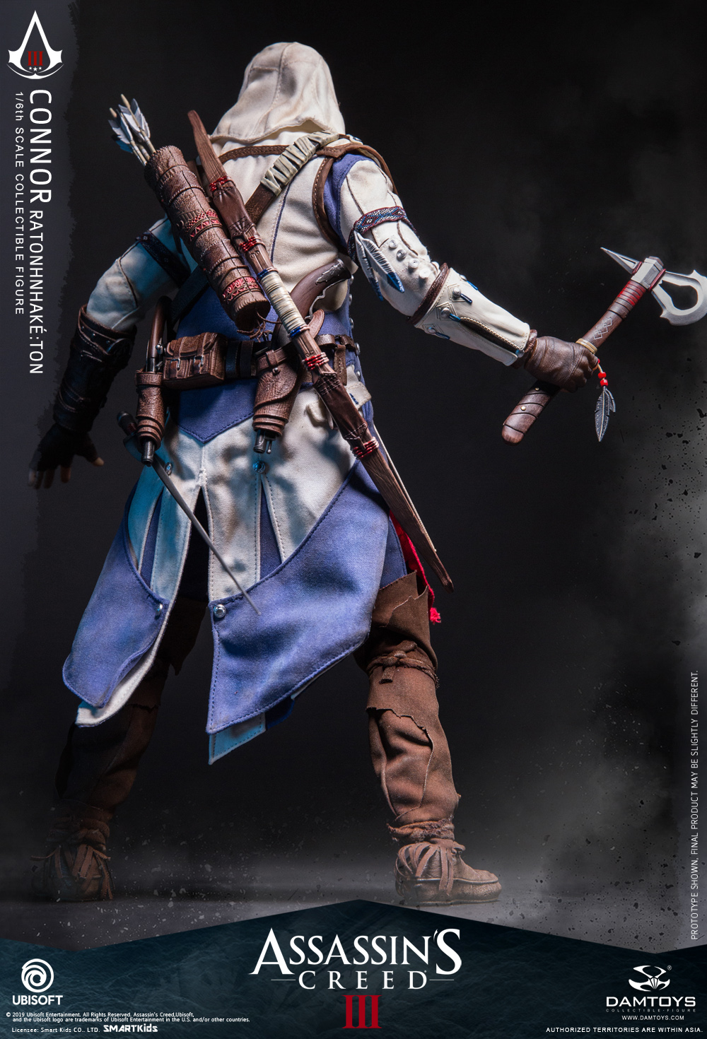"Videogame - NEW PRODUCT: DAMTOYS: 1/6 Ubisoft classic game ""Assassin's Creed III"" - Connor movable doll DMS010 12212210"