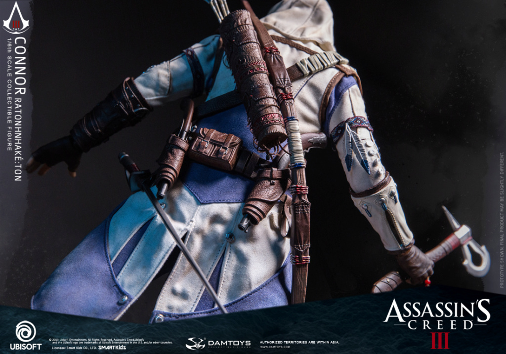 "Videogame - NEW PRODUCT: DAMTOYS: 1/6 Ubisoft classic game ""Assassin's Creed III"" - Connor movable doll DMS010 12212510"