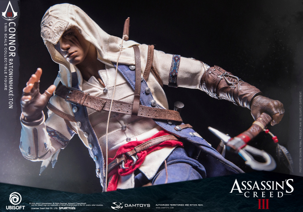 "DamToys - NEW PRODUCT: DAMTOYS: 1/6 Ubisoft classic game ""Assassin's Creed III"" - Connor movable doll DMS010 12212610"
