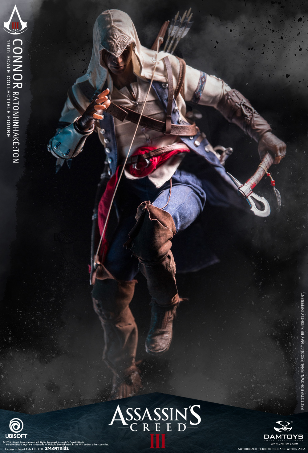 "DamToys - NEW PRODUCT: DAMTOYS: 1/6 Ubisoft classic game ""Assassin's Creed III"" - Connor movable doll DMS010 12212710"
