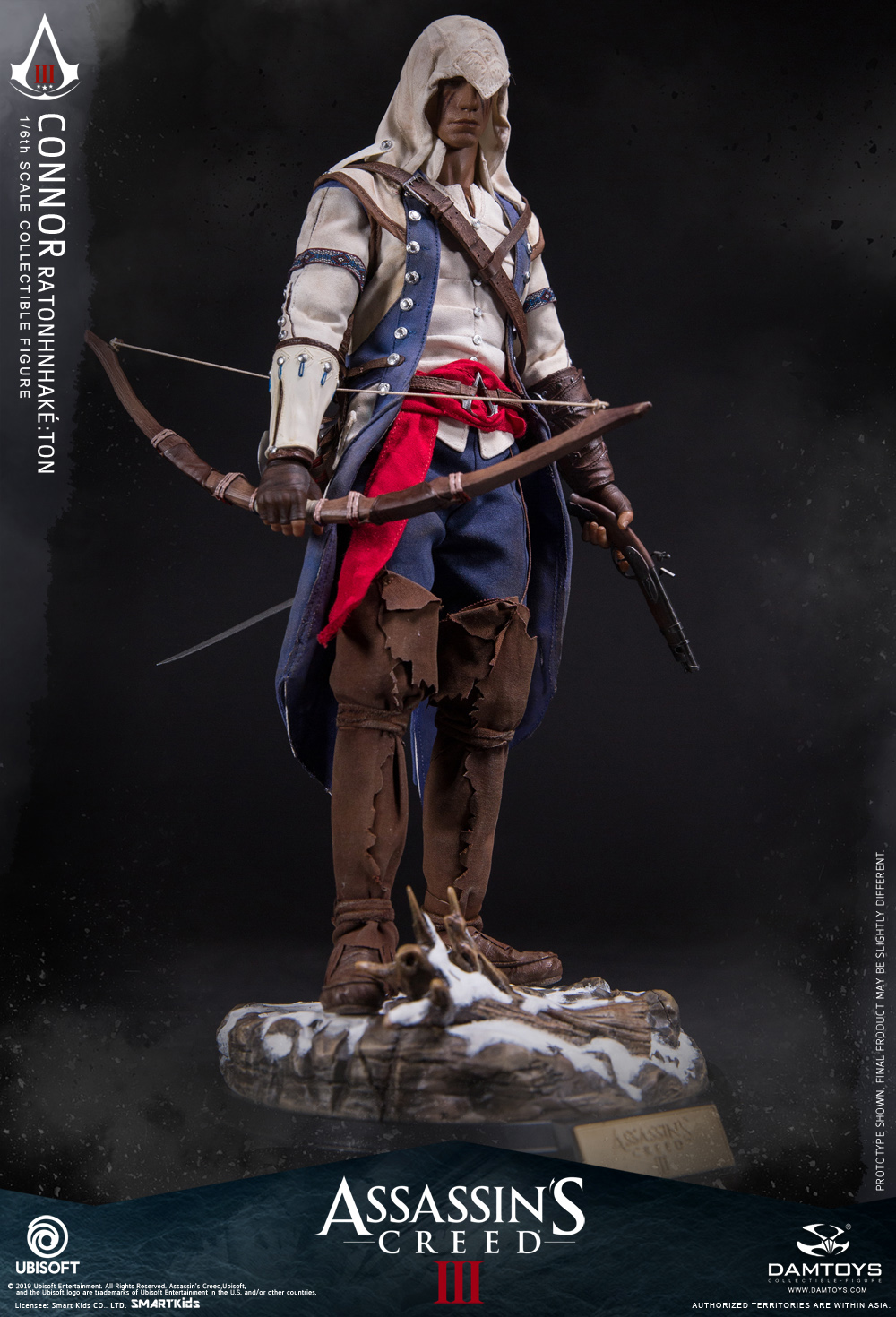 "DamToys - NEW PRODUCT: DAMTOYS: 1/6 Ubisoft classic game ""Assassin's Creed III"" - Connor movable doll DMS010 12213610"