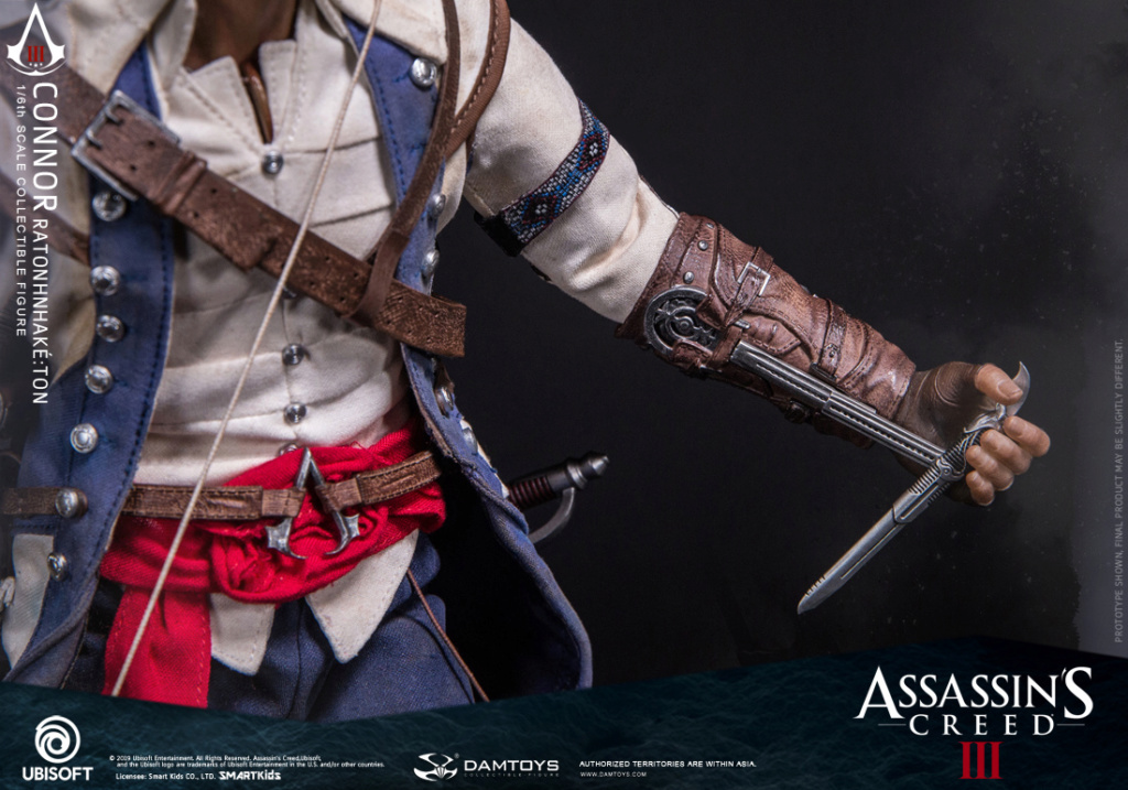 "Videogame - NEW PRODUCT: DAMTOYS: 1/6 Ubisoft classic game ""Assassin's Creed III"" - Connor movable doll DMS010 12213710"